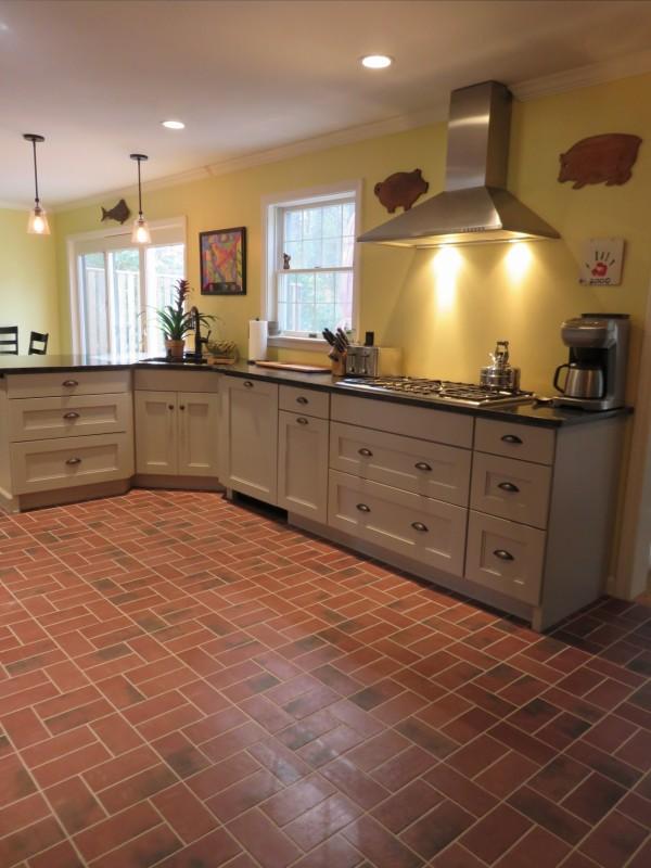 New england style kitchen durham nh flooring in for New england style kitchen