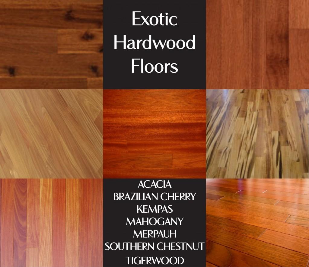 Exotic Hardwoods