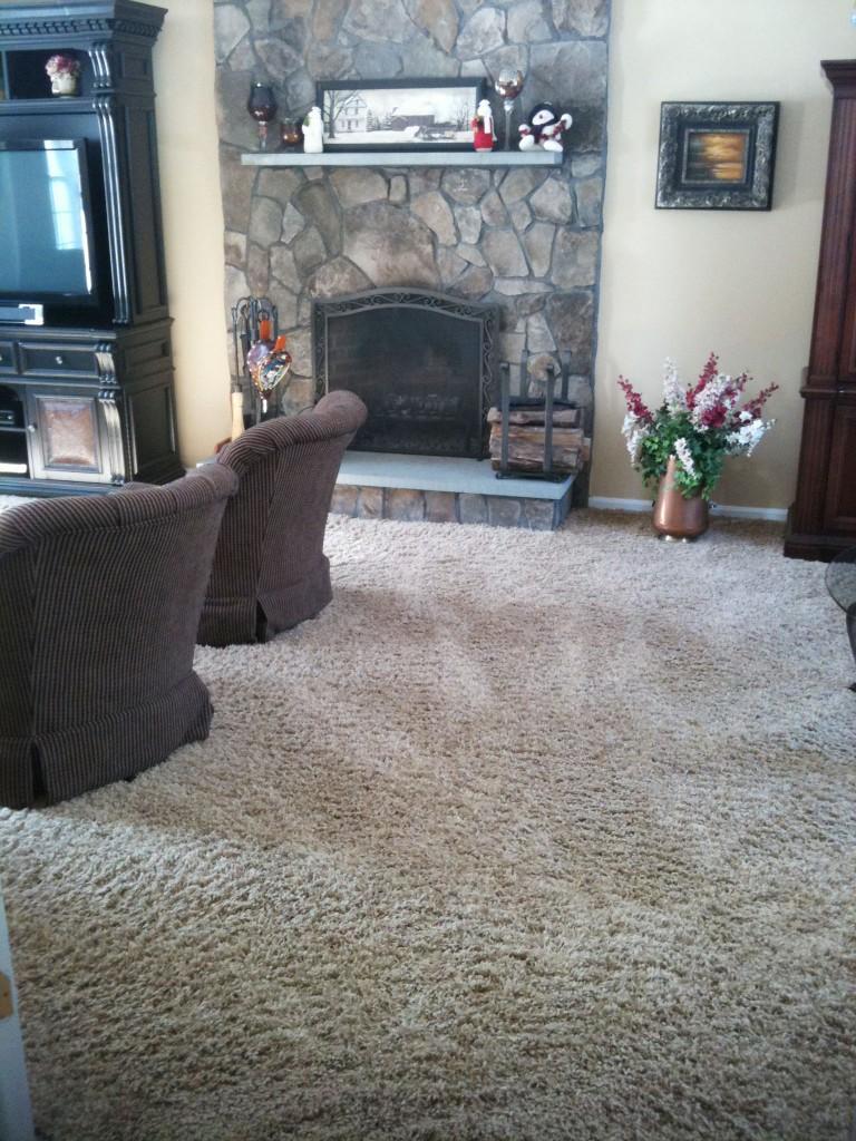 Carpet Fireplace