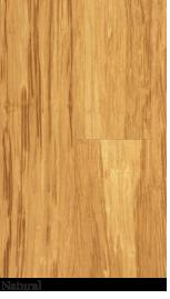 Bamboo floor natural