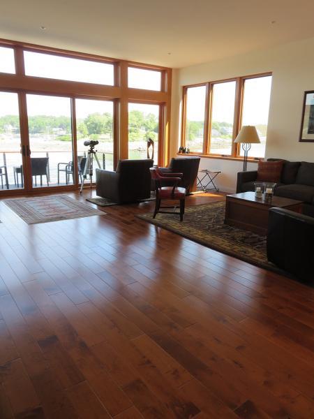 Living-Room with Hallmark-Engineered-Hacienda-Hardwood