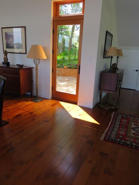Kitchen Entrance with Hallmark-Engineered-Hacienda-Hardwood