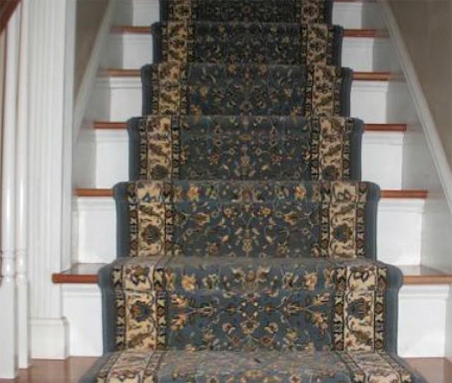 Stair Runner Carpet Colorful